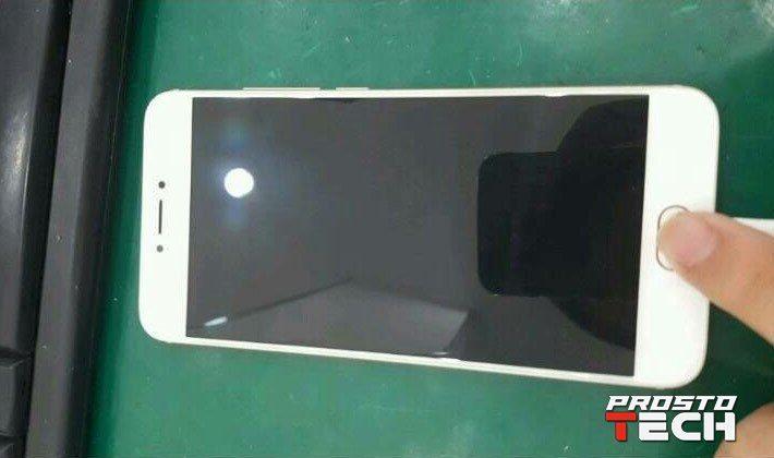 Новые фотографии Meizu PRO 6 демонстрируют золотистый ибелый корпус