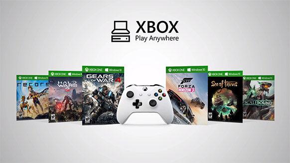 Xbox Play Anywhere будет бесплатной изаработает 13сентября