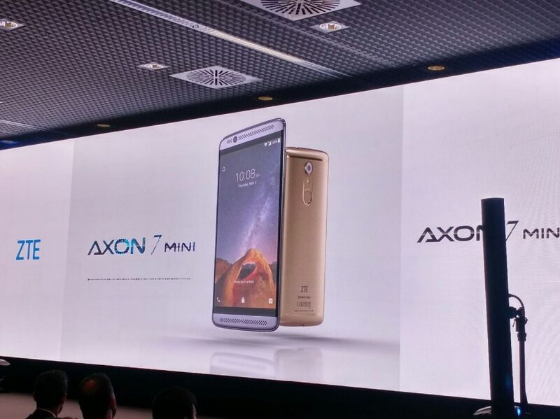 ZTE представила Axon 7 Мини