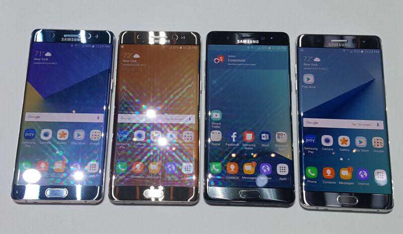 Самсунг перезапустит продажи Galaxy Note 7 вевропейских странах кконцу ноября