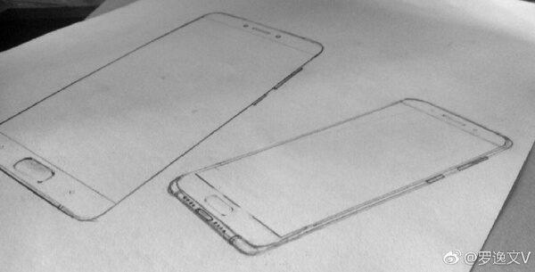 Эскизы Xiaomi Mi6 засветились вweb-сети интернет