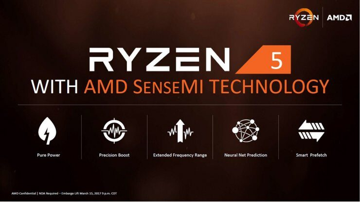 Новые детали осхеме распределения ядер впроцессорах AMD Ryzen 5