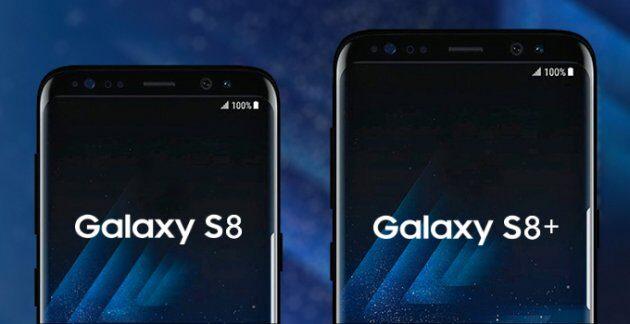 Самсунг Galaxy S8 нановых живых фото