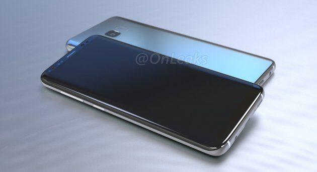Стали известны европейские цены Самсунг Galaxy S8 иS8+