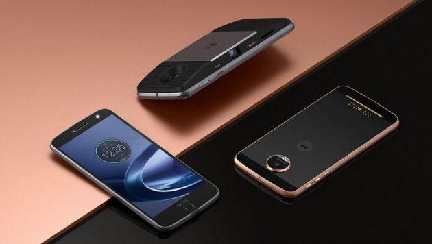 Смартфон Moto Z2 Force замечен нафото ивидео