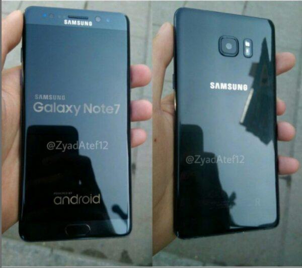 Вглобальной web-сети появились фото восстановленного Самсунг Galaxy Note 7