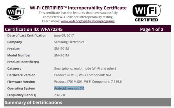 Самсунг обновил Galaxy A3 до андроид 7.0 Nougat