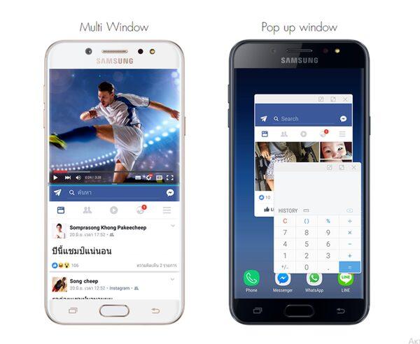Самсунг выпустила Android-смартфон Galaxy J7+ сдвойной камерой