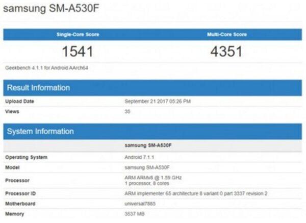 Всети интернет появились сведения одизайне телефонов Самсунг Galaxy A5 иA7