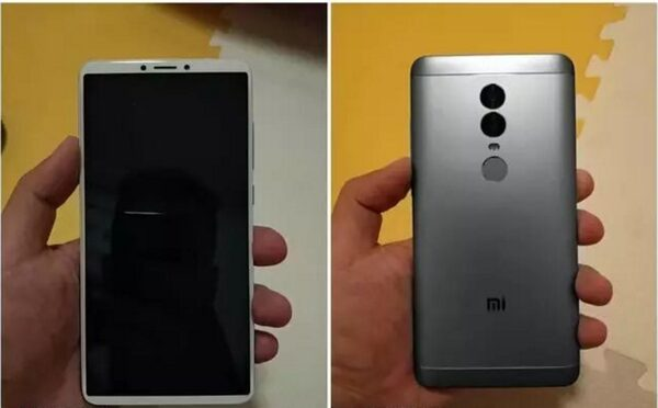 Утечка: фото Xiaomi Redmi Note 5