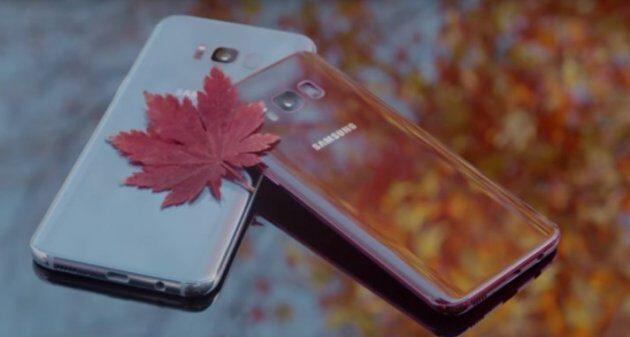 В Samsung пополнение: Deepsea Blue Galaxy Note 8 и Burgundy Red Galaxy S8