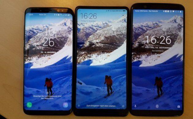 Характеристики и реальные фото OnePlus 5T в сравнении с Galaxy S8 и Mi Mix 2