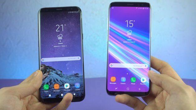 Бета-версия Android Oreo для Galaxy S8 представлена на видео