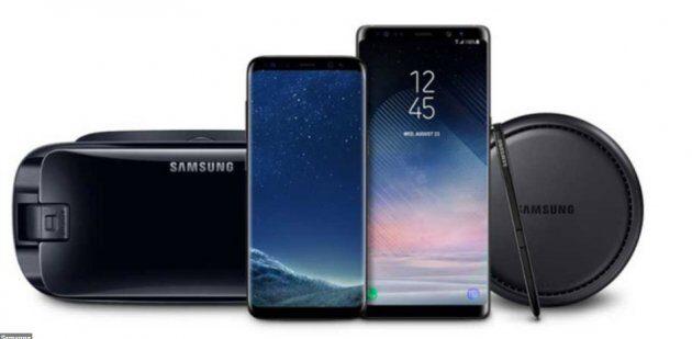 Samsung 'Black Friday' скидки на флагманы Galaxy S8 и Galaxy Note 8