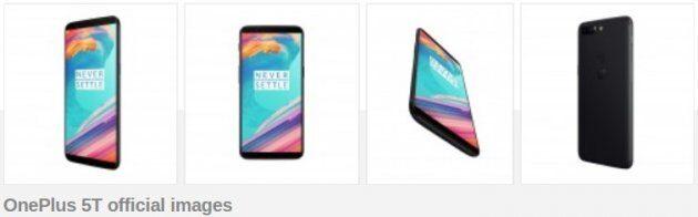 Характеристики и цена OnePlus 5T