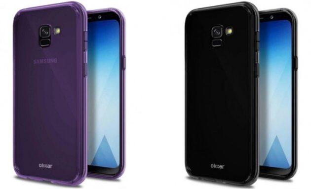 Новые изображения Samsung Galaxy A5 (2018) демонстрируют Infinity Display