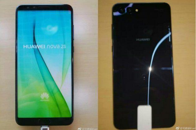 Новые снимки и характеристики Huawei Nova 2S