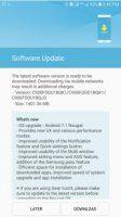 Samsung Galaxy C9 Pro получает обновление Android 7.1.1 Nougat