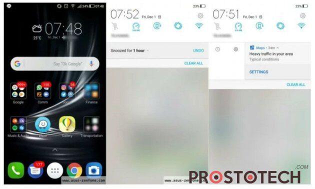 Zenfone 3 получает обновление до Android Oreo