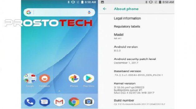 Xiaomi проводит набор владельцев Mi A1 для тестирования бета-версии Android Oreo