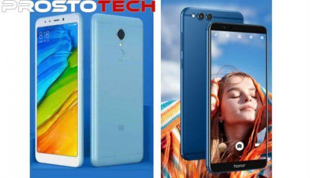 Сравнение характеристик: Xiaomi Redmi 5 Plus против Honor 7X
