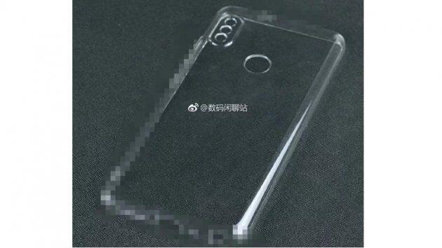 Задняя панель Xiaomi Mi MIX 3 показывает установку двойных камер, идентичную iPhone X