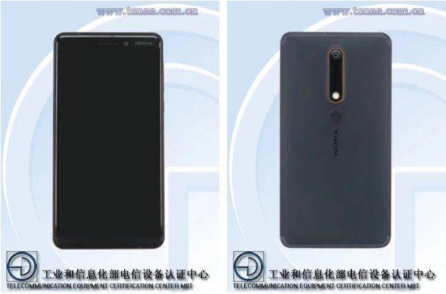 Новая информация и фотографии Nokia 6 (2018)