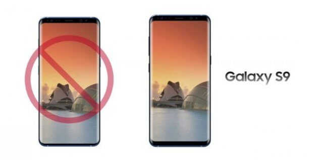 Передняя панель Samsung Galaxy S9 будет такой же, как в Galaxy S8