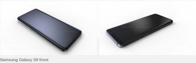 Рендер Galaxy S9 и S9 Plus: новая информация о характеристиках и дизайне
