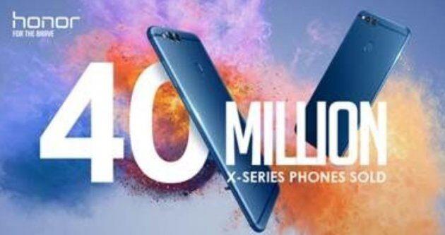 Продажи серии Honor X достигли отметки в 40 миллионов