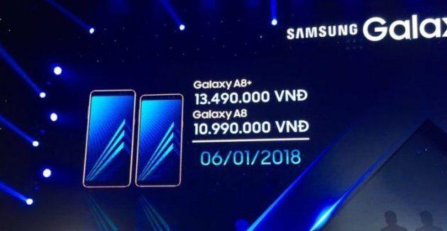 Samsung объявил цены и дату выхода в продажу Galaxy A8 и A8 Plus (2018)