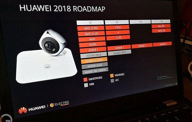Просочилось изображение и новая информация о следующем флагмане Huawei