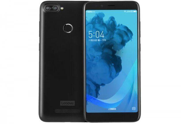 Lenovo анонсировала свой первый полноэкранный смартфон с дисплеем 18: 9