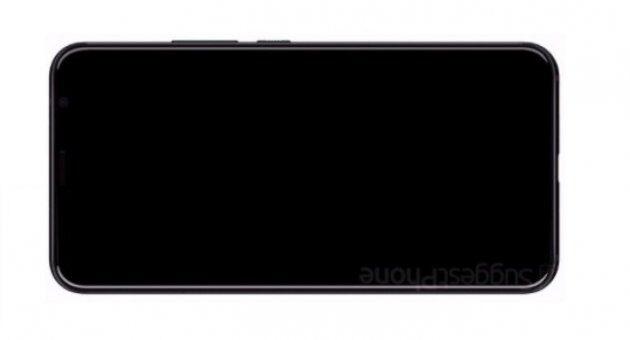 Первые рендерные изображения полноэкранного HTC U12