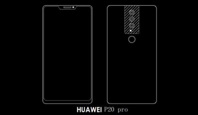 Появились макеты трех моделей флагмана Huawei P20