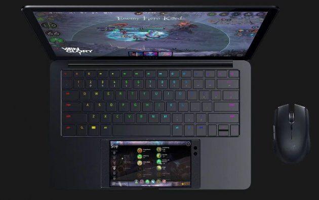 Док-станция Razer Project Linda превращает телефон в ноутбук