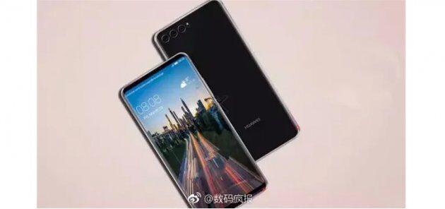 Рендерные снимки показываю настоящий дизайн Huawei P20 с тремя камерами