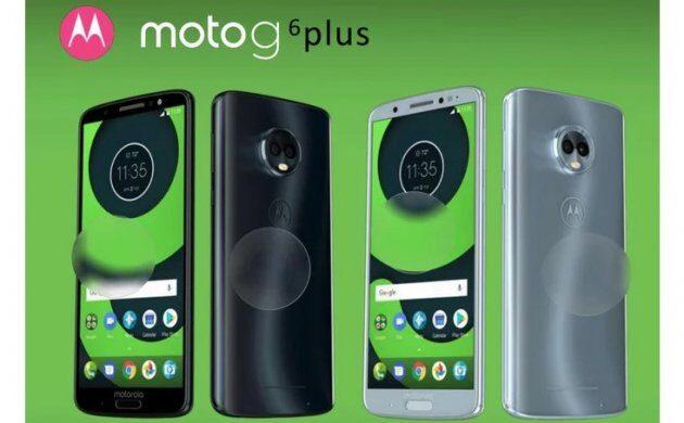 Новая информация о дизайне и характеристиках Moto G6, G6 Plus и G6 Play