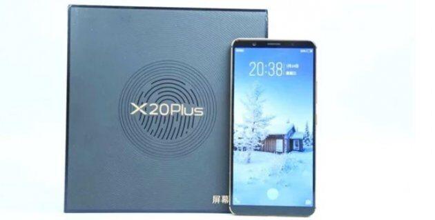 Сенсорный сканер под дисплеем Vivo X20 Plus