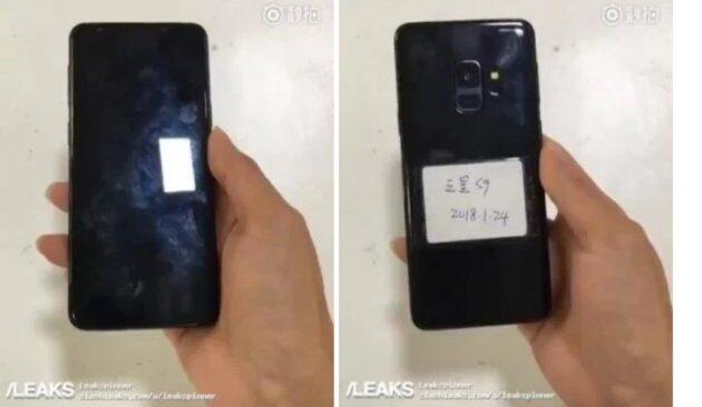 Samsung Galaxy S9 показался на видео с обеих сторон