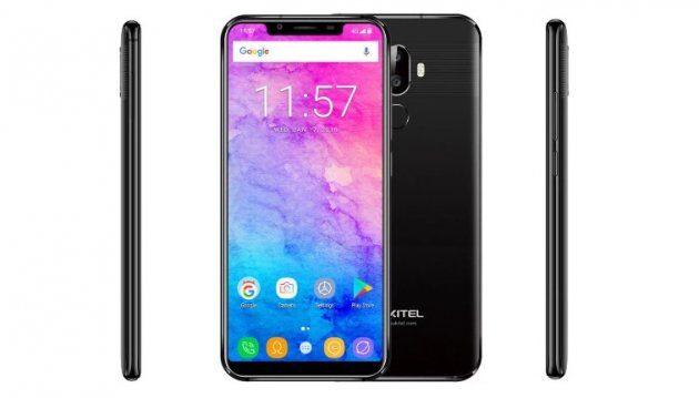 Oukitel U18 с iPhone-подобным вырезом в дисплее: характеристики и цена