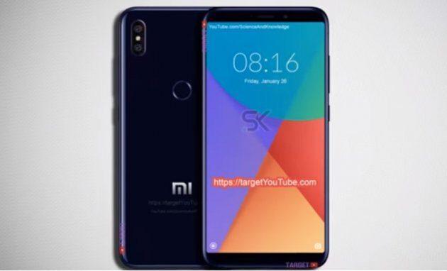 Новая информация о дизайне и характеристиках Xiaomi Mi 6X (Mi A2)