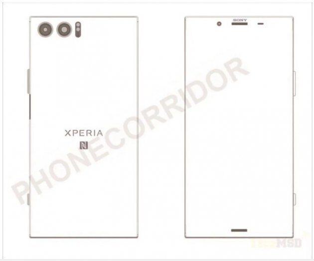 Схемы Sony Xperia XZ Pro подтверждают некоторые спецификации телефона