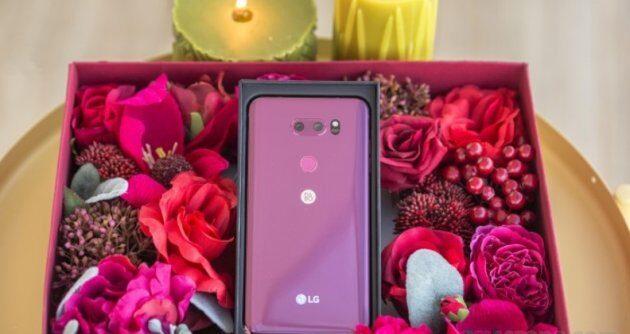 LG запускает V30 в новом цвете ко Дню Святого Валентина