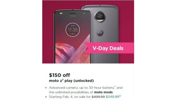 Motorola снизила цену на Moto Z2 Play