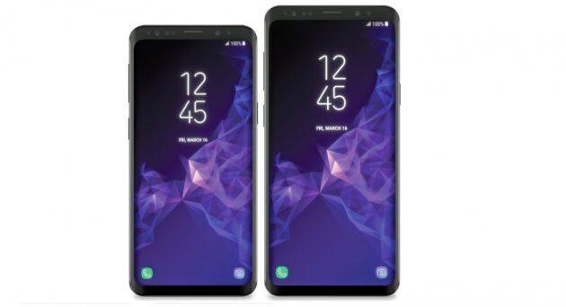 Официальные версии Galaxy S9 и S9 Plus замечены на видео