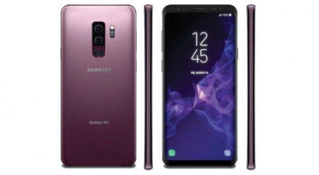 Samsung Galaxy S9 и S9 Plus в фиолетовом варианте цвета