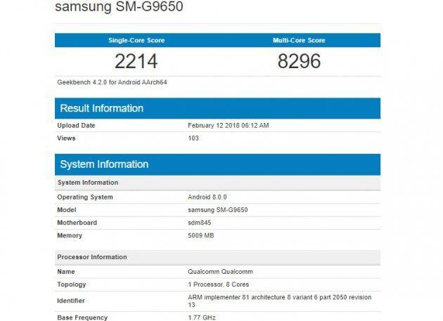 Samsung Galaxy S9 на Exynos 9810 превзошел Galaxy S9 Plus на Snapdragon 845 в тестах Geekbench