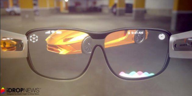 Концептуальные изображения AR-очков от Apple