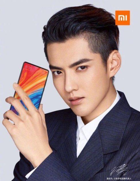 Xiaomi Mi MIX 2S официальный дизайн
